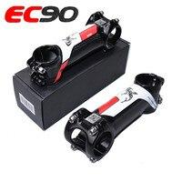 2019 EC90 Bicycle Riser Road Bike Stem/ MTB Bicycle STEM Rod Carbon +aluminium Alloy 60/70/ 80/90/100/110/120mm 28.6 31.8MM