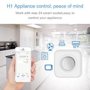 Image 4 - Tuya inteligente wi fi sistema de alarme segurança em casa 433mhz sem fio sirene estroboscópica alarme compatível com alexa google início tuya app