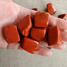 100g natural red jasper gravel large piece of raw stone fish tank  decoration bottom for Buddha Feng Shui