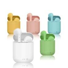 Mini 2 tws fones de ouvido sem fio bluetooth 5.0 fones de ouvido esportes fone de ouvido com microfone caixa de carregamento para iphone xiaomi pk i9s i7s