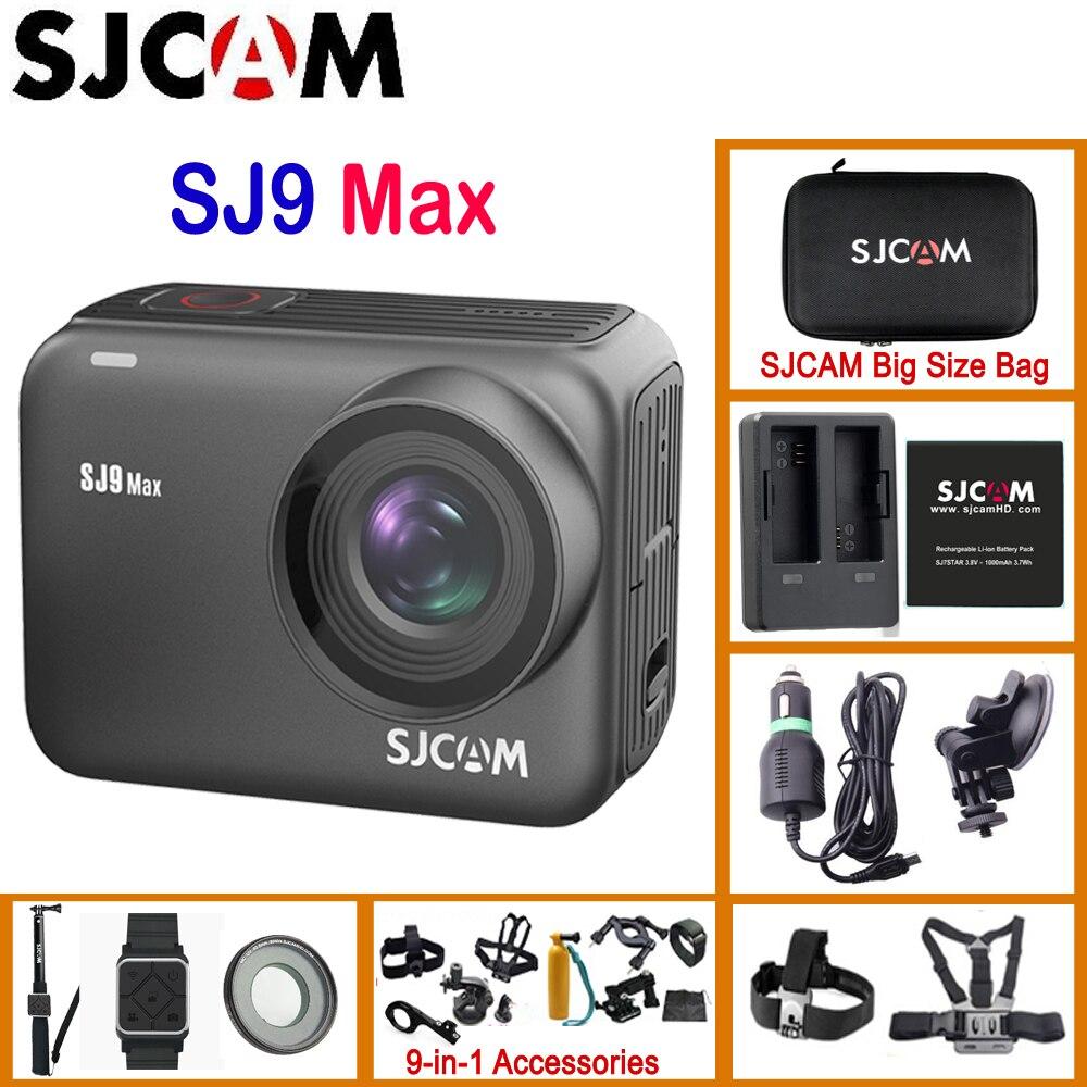 SJCAM Wifi Action-Camera Remote Waterproof Body 3-Axis Wireless-Charging Novatek 4K30FPS