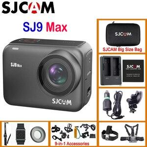 Image 1 - SJCAM SJ9 Max 3 Axis Gyro/EIS Native 4K30FPS WiFi Remote Action Camera Novatek NT96683 Live Streaming 10m Body Waterproof DV