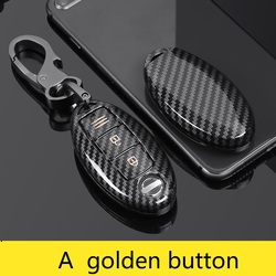 Glossy Carbon fiber ABS Car Key Case Fob Cover For Nissan Qashqai J11 X-Trail t31 t32 kicks Tiida Pathfinder Murano Note Juke