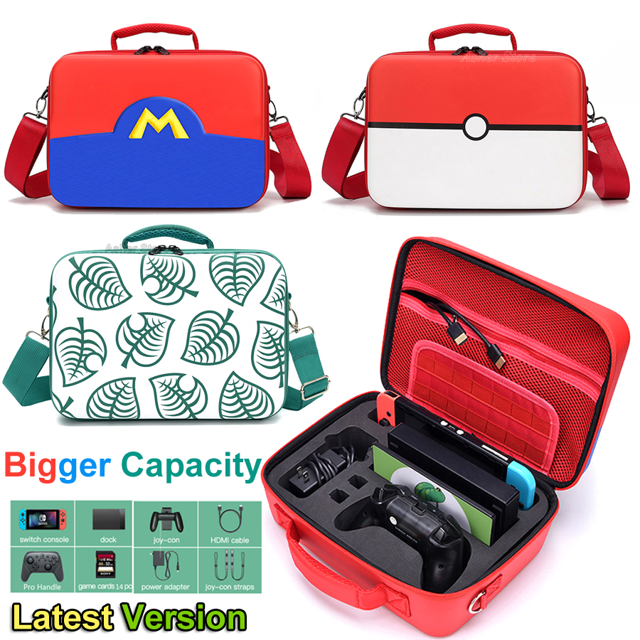 2020 Nintend Switch Carrying Storage Case EVA Deluxe Protective Big Bag for Nitendo Switch Nintendoswitch Console & Accessories(China)