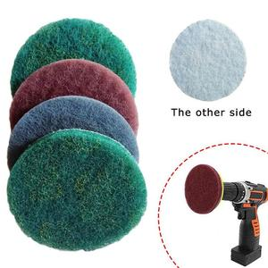 1Pcs Electric Drill Brush Scrub Pads Grout Power Drills Scrubber Cleaning Brush Tub Cleaner Tools Kit ISHOWTIENDA