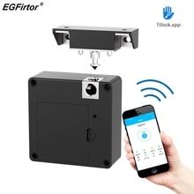 Bluetooth Electronic Cabinet Lock TTLock APP Remote Control Drawer Door Lock Keyless Invisible RFID File Smart Lock