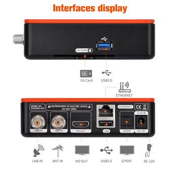 GTMEDIA nowy Android TV BOX GT Combo Android 9 0 + DVB-S2X T2 C naziemny odbiornik telewizji satelitarnej dekoder Google inteligentny dekoder tanie i dobre opinie 1000 M CN (pochodzenie) Amlogic S905X3 16 GB eMMC HDMI 2 1 2G DDR3 1x USB 2 0 Wliczone w cenę DVB-S S2 S2X DVB-T T2 DVB-C