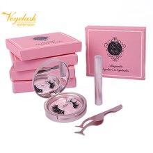 Veyelash Magnet Eyelash Magnetic Liquid Eyeliner False Eyelashes  Set Waterproof Long Lasting Extension