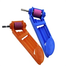 1set Corundum Grinding Wheel Drill Bit Sharpener Titanium Drill Portable Drill Bit Powered Tool Parts new