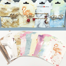 30pcs Multi-style Hair Clip Card 11x8cm Hair Accessories Display Card Packaging Price Tags Card for DIY Handmade Jewelry Display