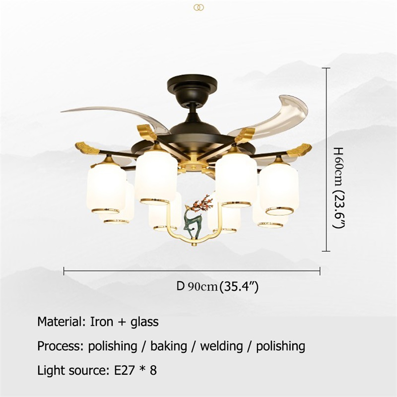 Потолочный светильник oufula с пультом дистанционного управления