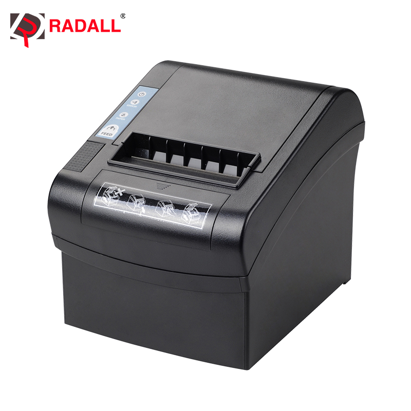 260mm/sec High Speed 80mm Thermal Printer WIFI/LAN/Series/USB Receipt Printer Thermal For Kitchen POS System Supermarket