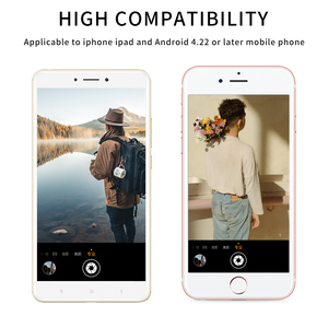 Image 5 - Wireless Shutter Remote Control Phone Self Timer Button Shutter Selfie Release Button Controller Adapter Photo for Android IOS