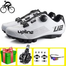Men Cycling Shoes Sapatilha Ciclismo Mtb Breathable Lightweight Self-locking chaussure vtt Professional Bicycle Bike Shoes santic men mtb cycling shoes pu breathable moutain bike shoes auto lock athletic bicycle shoes chaussure vtt zapatillas ciclismo