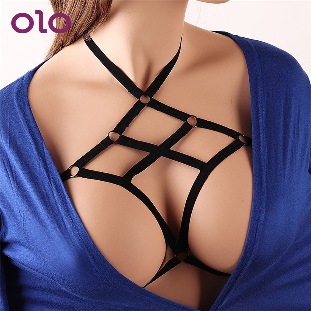 OLO Sexy Lingerie Bra Bondage Sexy Breast Harness Body Binding Erotic Lingerie Sleepwear Adults Game Sex Toys For Women