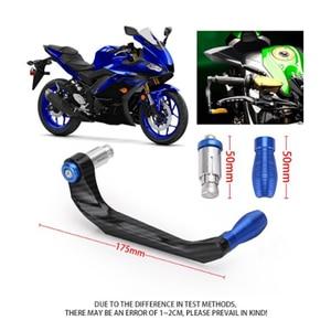 Image 5 - รถจักรยานยนต์ Handlebar เบรคคลัทช์ Protector Guard สำหรับ Yamaha R3 R25 Yzf R1 Yzf R6 Handle Bar อะไหล่ Moto จักรยาน CNC อลูมิเนียม