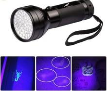New 51 LED UV Flashlight Torch Light Ultra Violet Light Blacklight UV Lamp AA Battery For Marker Checker Detection