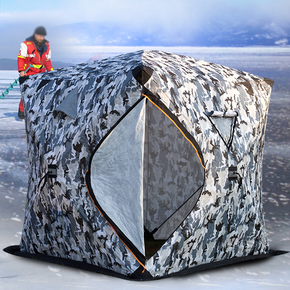 de configurar inverno barraca de pesca no