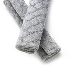 Image 5 - Housses de ceinture de siège en velours doux