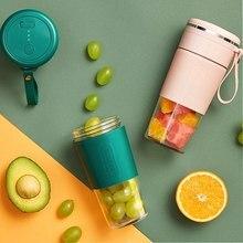 Mini Blender Juicer Portable Blending Cup USB Charge Juicing Cup Travel Juicer Blender 300ML Fruits Vegetables Blender Juicer