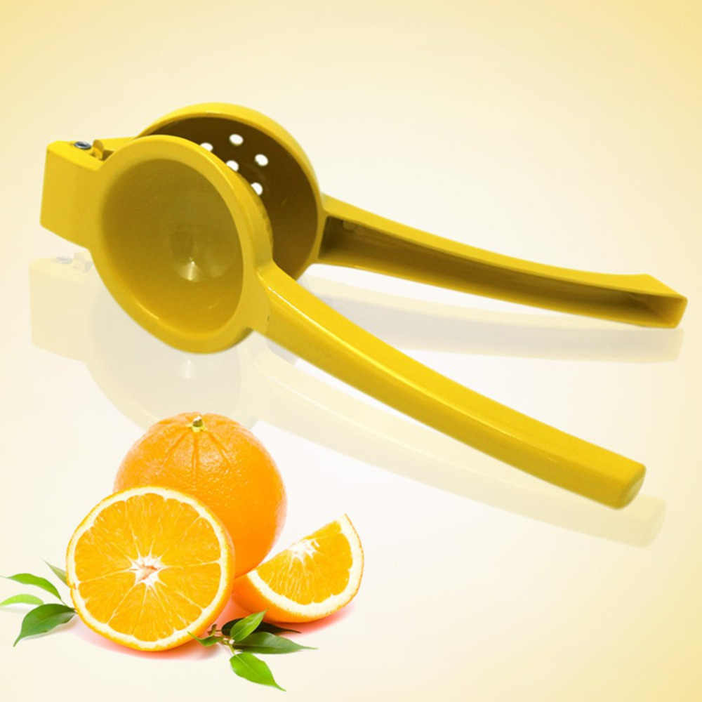 Aluminium Alloy Manual Tangan Tekanan Buah Juicer Pemeras Lemon Jeruk Orange Lime Juicer Rumah Dapur Gadget Manual Juicer