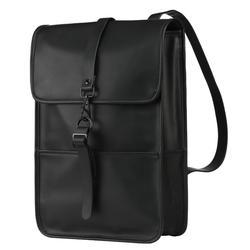 À prova dwaterproof água do plutônio mochila de couro das mulheres multi bolso mochilas de viagem feminino mulher mochila saco de escola para adolescentes
