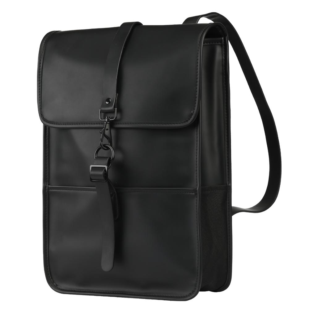Waterproof PU Leather <font><b>Backpack</b></font> Women Multi Pocket Travel <font><b>Backpacks</b></font> Female Woman <font><b>Backpack</b></font> <font><b>School</b></font> Bag <font><b>For</b></font> <font><b>Teenage</b></font> Girls image