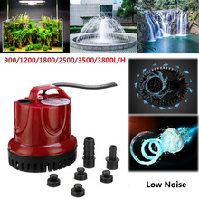 10/15/30/45/60/85W 50Hz Water Pump Fish Tank Submersible Ultra-Quiet Pump Fountain Aquarium Pond Spo