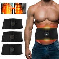 Elektrische Bauchmuskeln Trainer EMS Abs Fitness Ausrüstung Ausbildung Muscle Exerciser Stimulieren Toning Gürtel Übung Gym Zu Hause