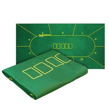 Покерный стол ткань Техасский покер макеты скатерть войлок 10 игроков покерный коврик/ТАПИС покер 180*90 см