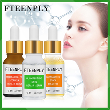 3PCS FTEENPLY Facial Repair Whitening Serum Hyaluronic Acid Moisturizing Skin Care Anti Wrinkle Sunburn Essence Lifting Firming