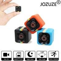 JOZUZE sq11 Mini kamera HD 1080P gece görüş kamera hareket algılama DVR mikro kamera spor DV Video Ultra küçük kamera SQ11