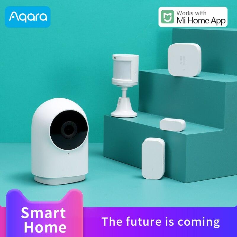Aqara Smart Camera G2 1080P Gateways Edition for Xiaomi Smart Home Human Body sensor Vibration Sensor Door windows sensor