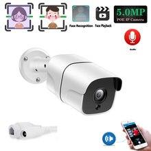 Ip камера видеонаблюдения h265 МП с функцией распознавания лица