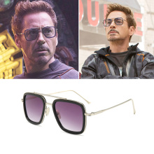 2019 Pilot Sunglasses for Men Tony Stark Fashion Avengers Oculos De Sol UV400