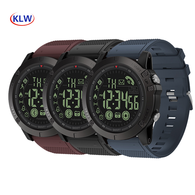 50m waterproof dual cpus Smart watch PR1-Pro smart step counter Android Bluetooth IOS long standby sports watch image