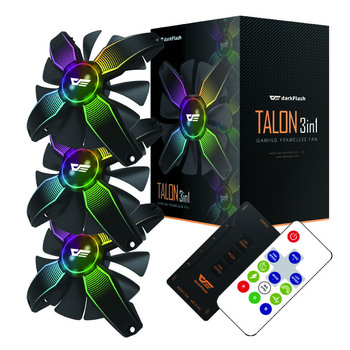 Aigo Talon pro 120mm Computer case fan Cpu Cooler Cooling Radiator 12V NO Frame RGB Cpu Cooling Fan Quietly For Inter And AMD