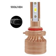 цена на 9006 Led 6500K 65W white light car headlight H1 H7 LED H8 H9 H11 9005 HB3 9006 HB4 9012 headlight fog lamp 12V LED H4