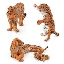 Cognitive-Toys Action-Figures Simulation Animal Kids PVC 3-Kinds Wild