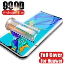 Гидрогелевая пленка для P9 P8 P10 Lite 2017, защитная пленка, стекло для Huawei P20 Lite, Защитная пленка для экрана телефона, Передняя пленка