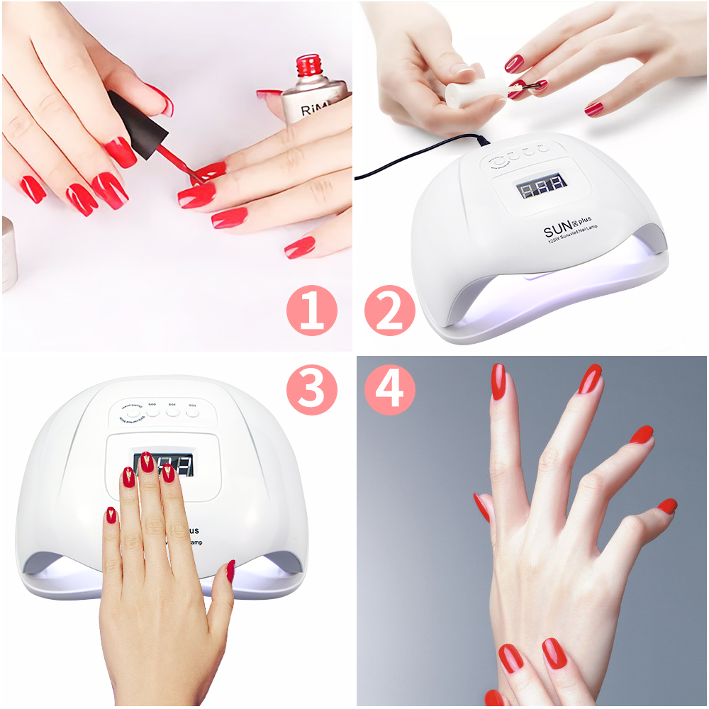SUNX5 Plus 72W/54W UV Lamp LED Nail Lamp Nail Dryer Sun Light For Manicure Gel Nails Lamp Drying For Gel Varnish