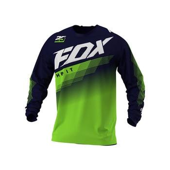 2020 MTB jersey DH  motocross Off Road Mountain Bike downhill Jersey MX BMX cycling hpit fox fxr mtb racing