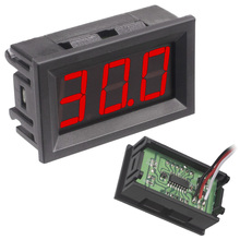 External Voltmeter Power-Supply Led-Display Reverse-Protection Digital New DC with 50pcs/Lot