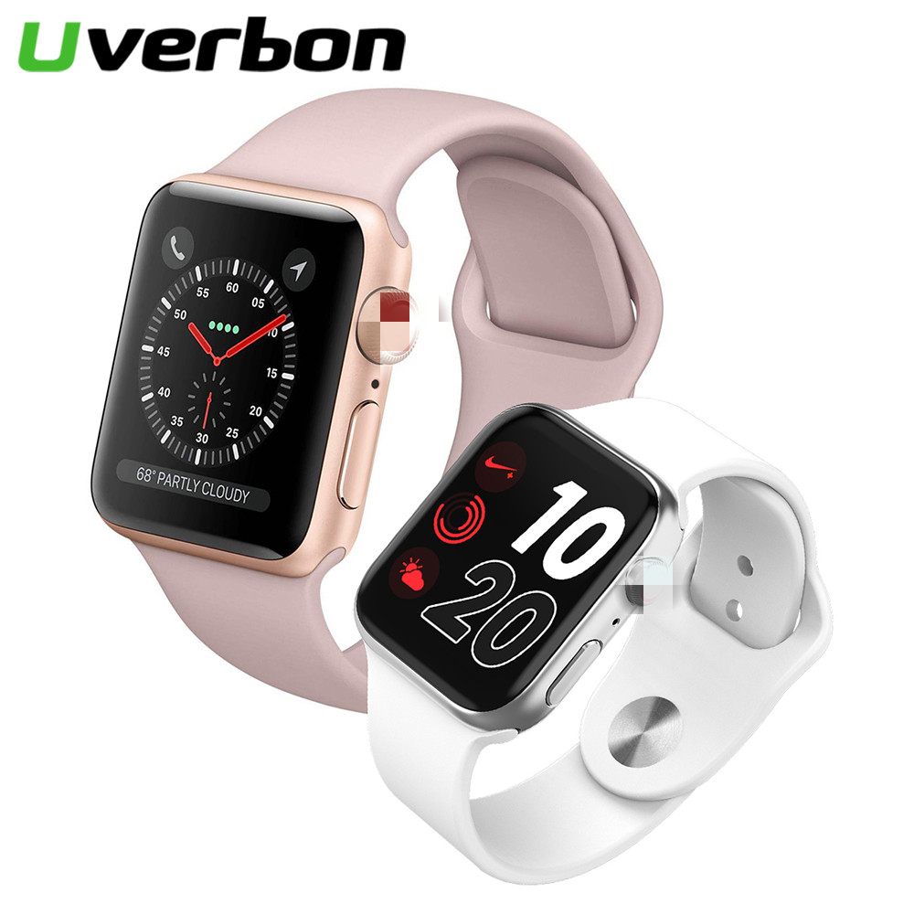 New Smart Watch Bluetooth Band with GPS <font><b>44mm</b></font> Inteligente Brinde <font><b>Pulseira</b></font> Sport Smart Watch Android for IOS Upgrade <font><b>IWO</b></font> 9 <font><b>8</b></font> 7 5 6 image