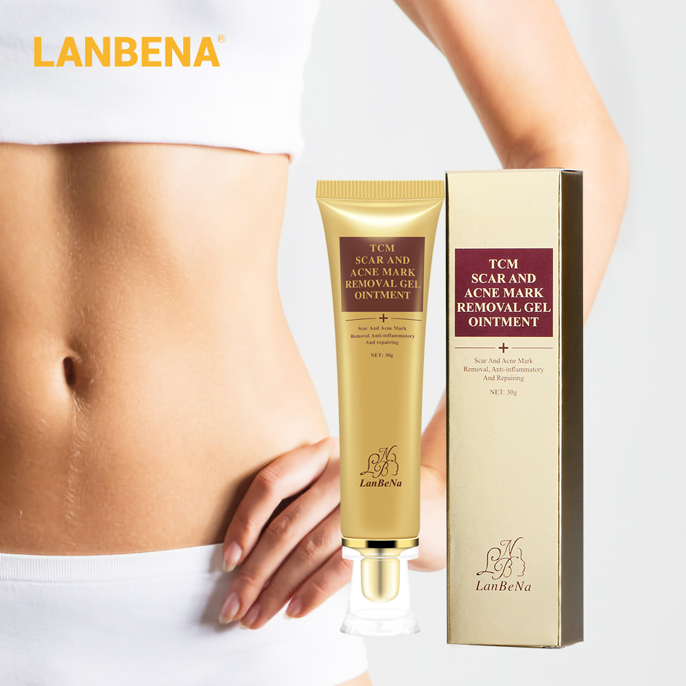 Lanbena Acne Scar Removal Cream Skin Repair Face Cream Acne Spots