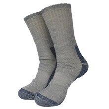 1 пара супер толстых 77% мериносовой шерсти зимние походные носки мужские носки