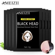 AMEIZII маска для лица для восстановления носа, для удаления черных точек, для глубокой очистки, для лечения акне, уход за кожей, Очищающая маска для пилинга лица