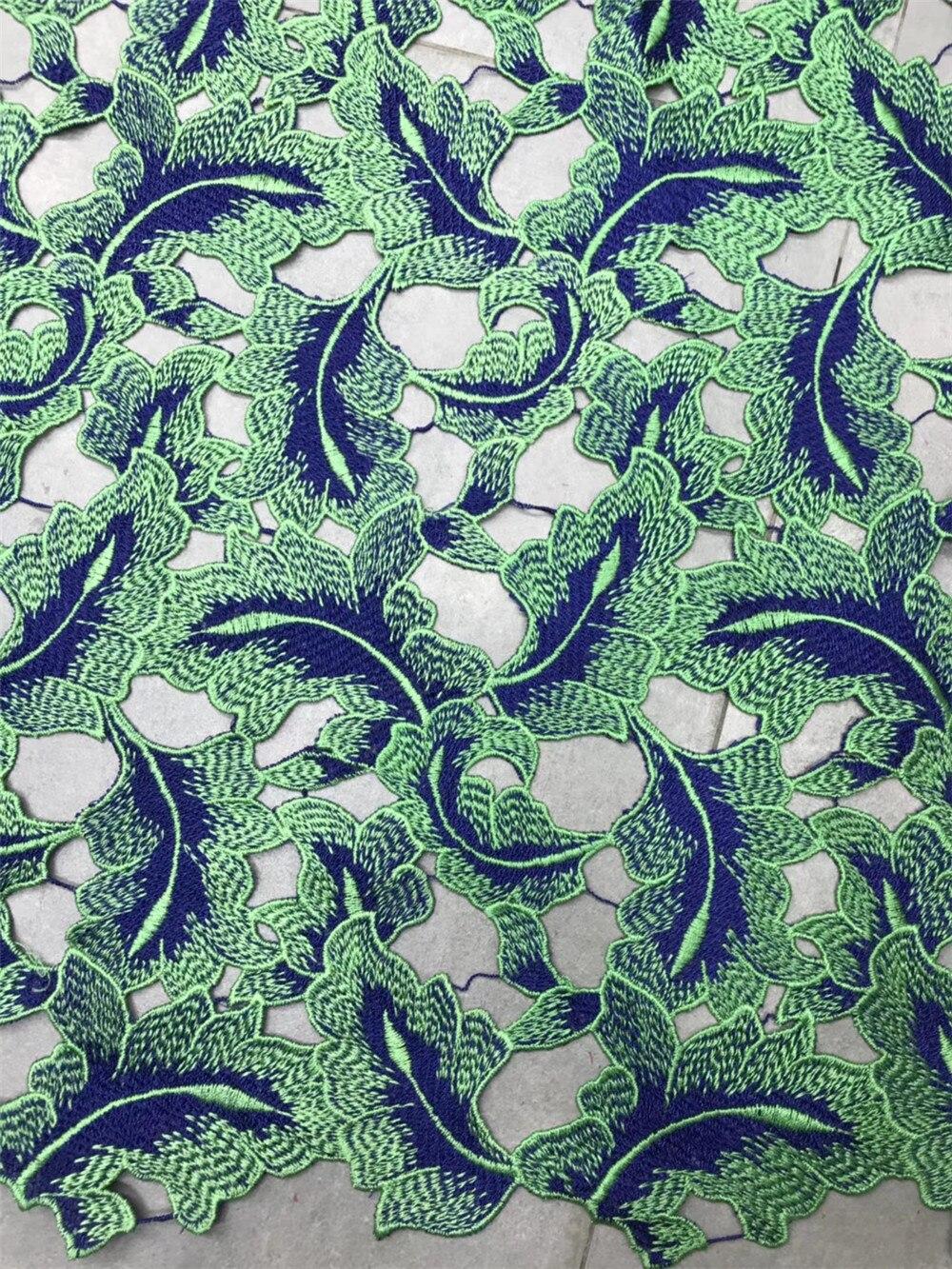 Muti Color Croechet Lace Fabric For Fashion  Dress