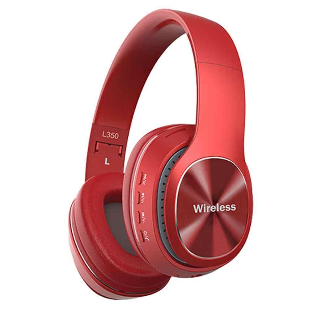 Auriculares Bluetooth mosunx, auriculares estéreo inalámbricos, auriculares plegables ajustables con micrófono/Subwoofer de 40mm