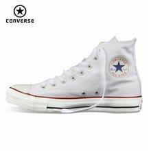 Converse – New all star Original pour hommes et femmes, chaussures en toile, all black high, chaussures de skateboard classiques
